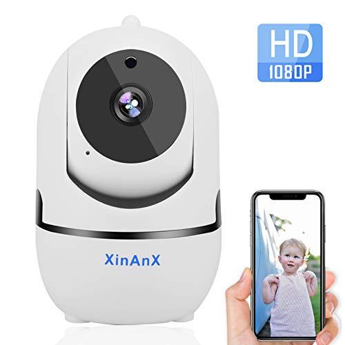 Wireless IP Camera 1080P HD WiFi Security Camera Indoor Pan/Tilt/Zoom Home Security Surveillance Camera System