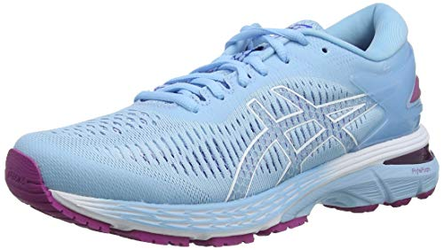 Asics Gel-Kayano 25, Zapatillas de Running para Mujer, Azul (Skylight/Illusion Blue 401), 37.5 EU