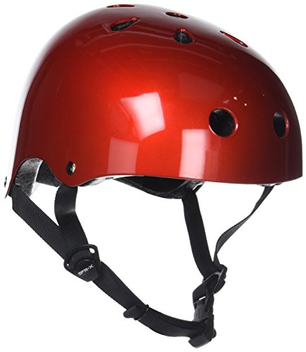 SFR Essentials Helmet Casco, Unisex para Adulto, Rojo (Metallic Red), XXS/XS 49-52cm