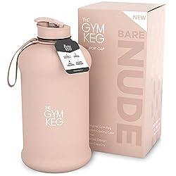 professional Jim barrel insulated sports water bottle (2.2L) | half gallon | handle | big jug…