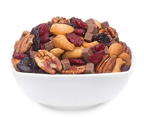 1 x 3kg Nussmischung Premium Studentenfutter mit Würfelschokolade & Trockenfrüchte Pekannuss...