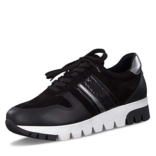 Tamaris Womens 1-1-23760-33 Sneaker, Schwarz, 41 EU