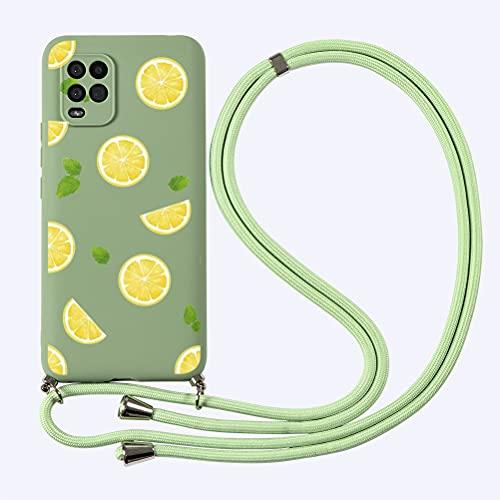Yoedge Funda con Cuerda para Xiaomi Mi 10 Lite 5G 6,57