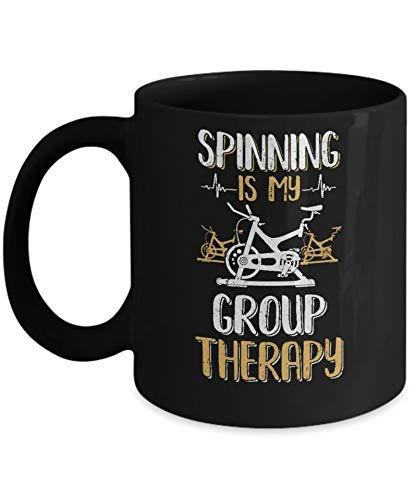 N\A Fitness Gym mom Spinning es mi Terapia de Grupo Taza de café Taza de café
