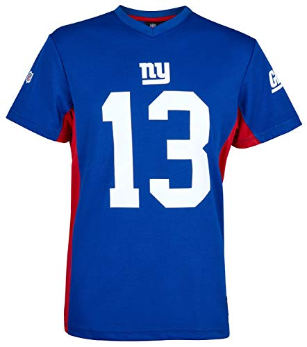 Fanatics NFL New York Giants Odell Beckham Jr #13 Polymesh Name Number Shirt Jersey Trikot (XL)