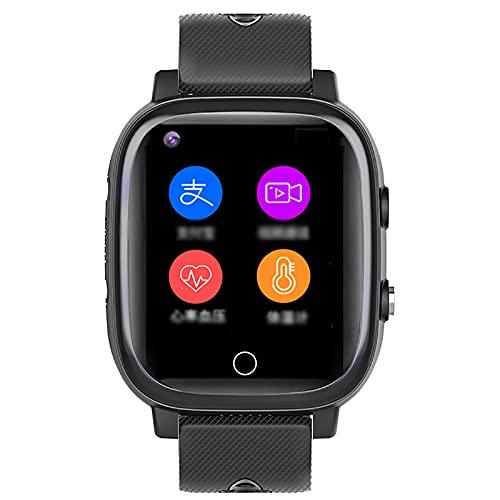 shjjyp Pulsera Actividad Smartwatch Reloj Inteligente Impermeable Ip67 PulsóMetro Comunicador Localizador Sos MóVil Localizador GPS Personas Mayores/Abuelos/Ancianos para Android iOS