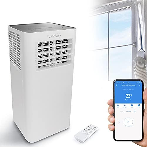 Avidsen 127040 Climatiseur HomeFresh-Climatisation Portable connectée, Gris