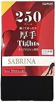 [グンゼ] タイツ SABRINA サブリナ ウォームプラス 軽くてあったか 250デニール相当 レディース ブラック 日本 M-L (日本サイズM-L相当)