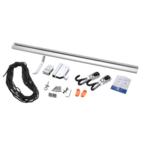 RAD Cycle Products Rail Mount Bike and Ladder Lift for Your Garage or Workshop Holds up to 75 Pounds No Mounting Board Needed