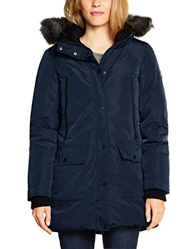 Cecil Damen 100569 Mantel, Blau (deep Blue 10128), Large(Herstellergröße:L)