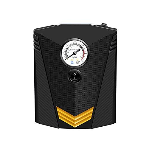 Bomba de Aire del Coche, Inflador de Neumáticos Portátil de la Bomba del Neumático de la Pantalla Digital 12V para el Barco Inflable de la Bola de la Bici del Coche, Inflado Automático de la Parada