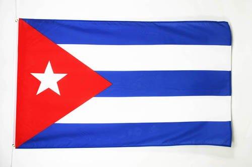 AZ FLAG Flagge Kuba 150x90cm - KUBANISCHE Fahne 90 x 150 cm feiner Polyester - flaggen