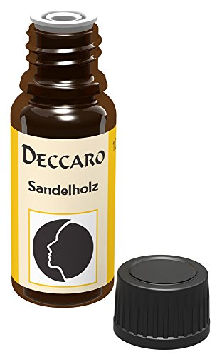 """DECCARO Aceite aromático""""legno di sandalo"""", 10 ml (aceite de perfume)"""