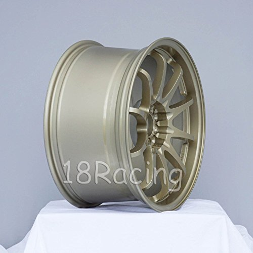 1 PC ONLY ROTA DPT 17x9 PCD 5X100 /& 5x114.3 OFFSET:42 HB:73 GOLD