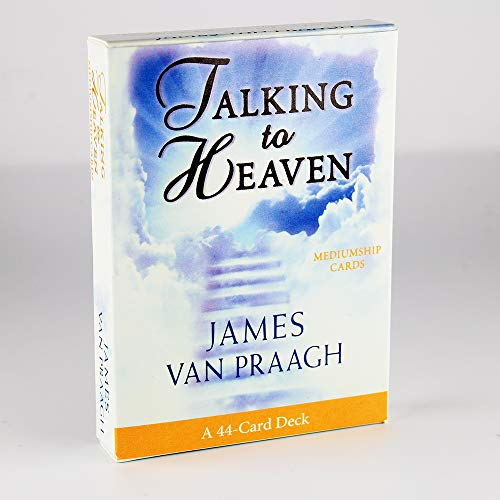 Talking to Heaven Mediumship Cards: A 44-Card Deck And Electronic Guide Book Mysterious Divination Family Friend Party Board Game