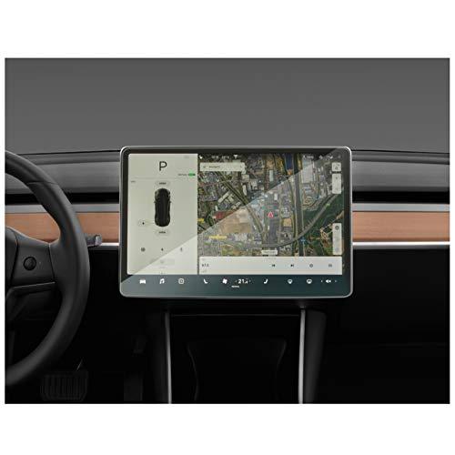 GLLXPZ Auto Styling GPS Navigation Displayschutzfolie, Für Tesla Model 3 2019, Display Film Interior Dashboard Film
