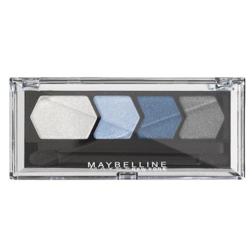 Maybelline New York Eyestudio Quattro Lidschatten Diamond Glow 10 Blue Drama, 4.8 g