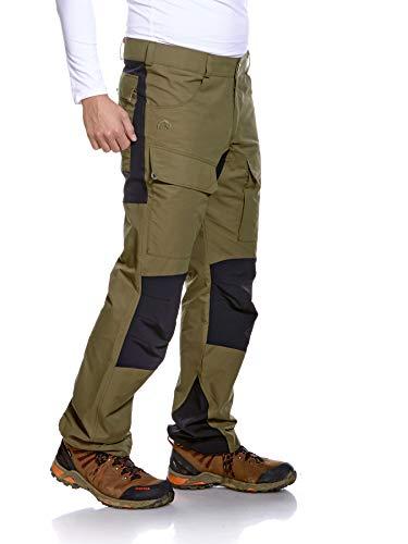 Tatonka Greendale M's Pants - Wanderhose für Herren - bequeme Outdoor-Hose mit elastischen Softshell-Einsätzen und Seitentaschen - oliv - Größe 56