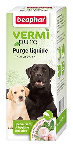 BeapharVermipure - Purga líquida Especial para la higiene digestiva de los Perros, 50 ml