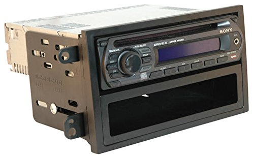 Price comparison product image Scosche HA1701B Compatible with 2003-06 Honda Element ISO Double DIN & DIN+Pocket Dash Kit Black