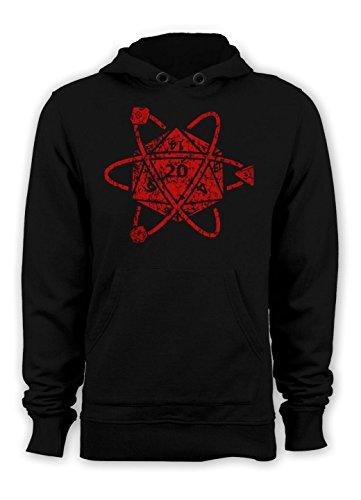 Guerrilla Tees D20 Atom Hoody Funny Tshirts