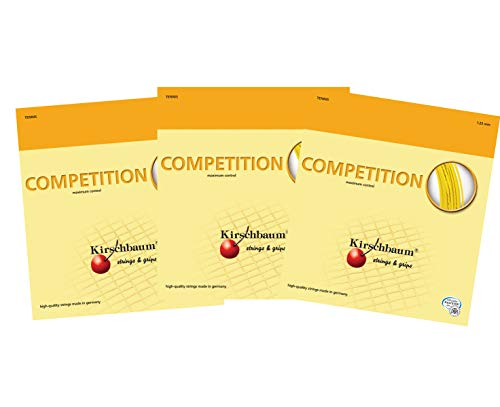 Kirschbaum Competition 200M Gelb Tennis Saitenrolle 200m Monofil Gelb 1,25
