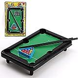 CHGNYLL Billardtisch,Mini-Billardtisch-Spielzeug,Mini-Snooker-Spielset,Spieltisch-Top-Billard-Snooker-Familien-Spaß-Spiel,Mini-Billardtisch-Set Für Kinder Und Erwachs