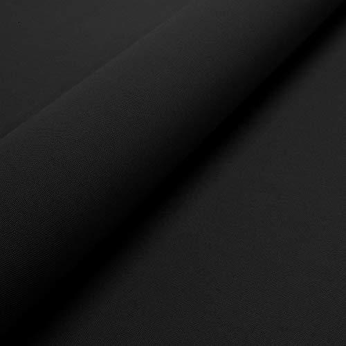 Ch.Cabanski Autohimmelstoff Himmelstoff Dachhimmel gewirke Himmel Meterware (Schwarz)