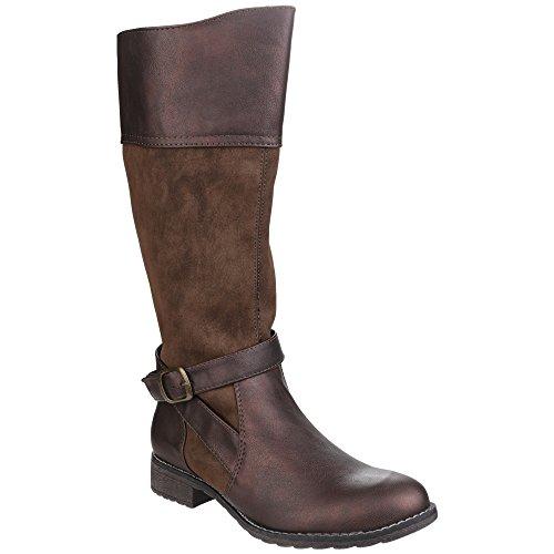 Divaz Garbo Ladies Boot Brown - 40