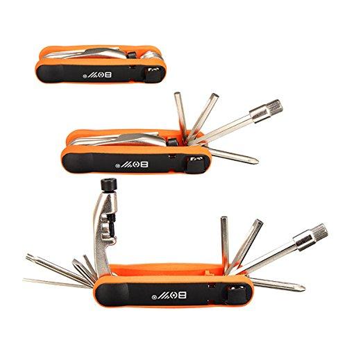MXBIN Kit de Destornilladores for Herramientas de reparación de Bicicletas 12 en...