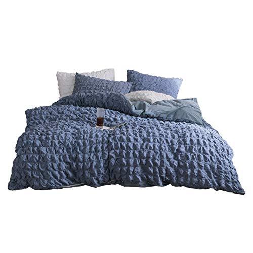 RKMJXJ Extra große Bettdecke, super weiche Tiefe Taschen, einfach zu fassen, atmungsaktiv, kühlend, Anti-Falten, komfortabel, Baumwolle schaummädchen herzendecke (Color : A, Size : 1.5m)