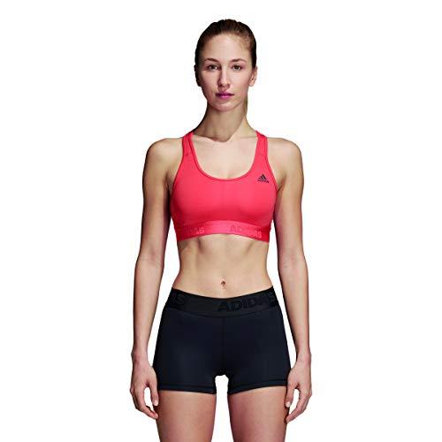 adidas Damen AlphaSkin Sport BH, Trace Scarlet, XS