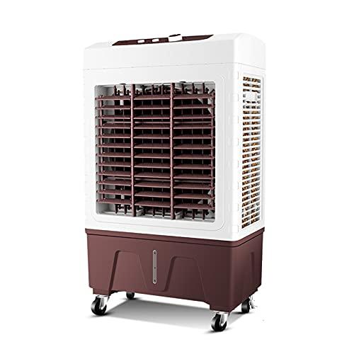 HOUSEHOLD Enfriador Evaporativo Portátil, 5000/6000 CFM, Ventilador de Refrigeración Industrial con 3 Velocidades, para Sala Grande Comercial