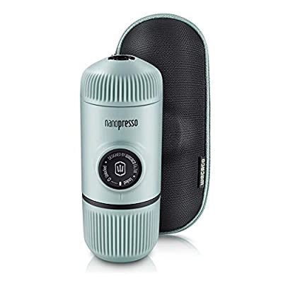 Wacaco Nanopresso Portable Espresso Maker Bundled with Protective Case