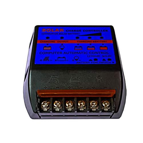 Preisvergleich Produktbild UKCOCO 10A 12 / 24V Solarladeregler Solarladeregler