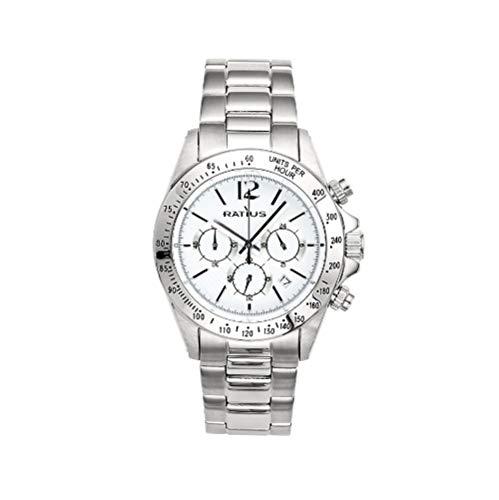 Ratius Damen Uhr 22.50175M.25 Chronograph Edelstahl