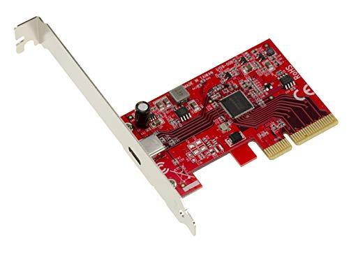 Kalea Informatique PCIe Gen 3.0 4 x 1 Port USB 3.2 20 G Typ C. High Power 5 V 3 A. USB3.2 Asmedia ASM3242.