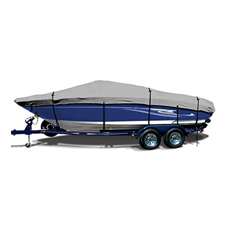 Best Buy! SavvyCraft Trailerable Deck Boat Cover 26'6x104 Gray