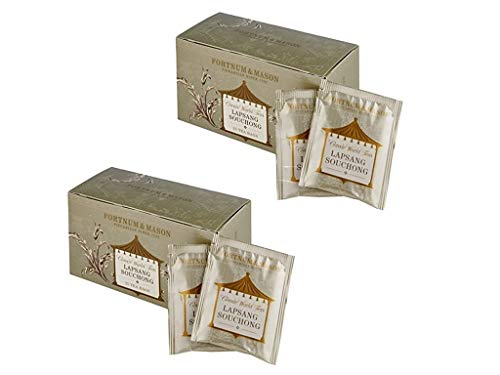 まとめ買い 2箱セット フォートナム&メイソン ラプサンスーチョン 50 ティーバッグ (25個入りx2箱)(個包装) (Lapsang Souchong 正山小種)