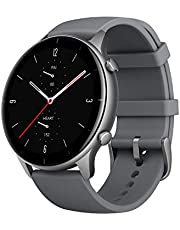 Amazfit GTR 2e Smartwatch with Alexa Built-in for iPhone Android Phone, GPS, Blood Pressure Heart Rate Sleep Monitor, Activity Fitness Tracker with 90 Sports Modes, 24 Day Battery Life, Slate Grey