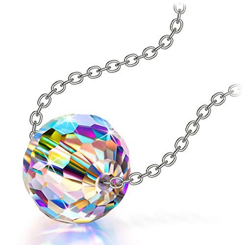 Alex Perry Geschenke für Frauen Kette Damen Schmuck Mädchen Geschenk Halsketten für Frauen Personalisierte Geschenke Jahrestag Kristall Einstellbar Valentinstag Muttertagsgeschenk Geburtstagsgeschenk