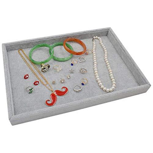 BEI&YANG Schmuckständer Eisblume Große Deckellose Schmuckständer Halskette Display Ring Display Box Ohrringe Display Box@Leere Schüssel