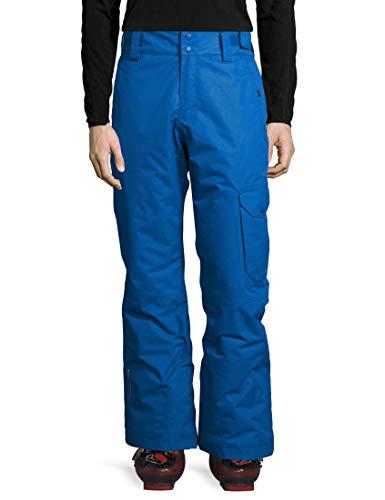 Ultrasport Advanced Pantalones de esquí y snowboard para hombre Cargo, pantalones de invierno, pantalones de esquí, pantalones de nieve, pantalones funcionales, Azul, L