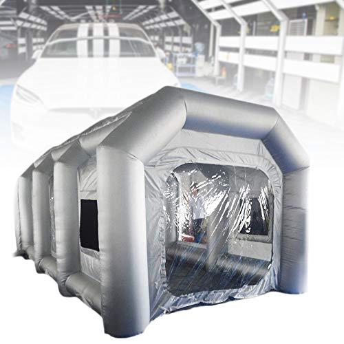 YOHIKOKIU Tente Gonflable 13 Pieds Cabine de pulvérisation Gonflable Tente personnalisée Cabine de Peinture Gonflable Tente Cabine de Peinture de Voiture Poste de Travail géant Tissu Oxford