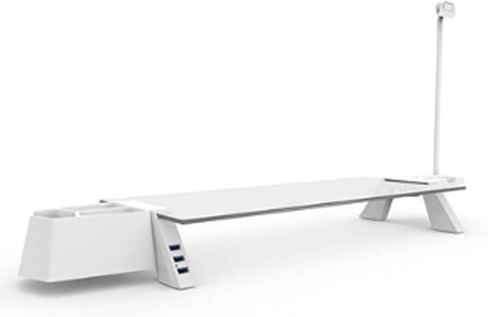 Smart Dock Bridge USB 3.0 Monitor Stand White / Monitor / Stands / PC / Mouse / Keyboard / Laptop / Desktop / Computer / Computer Accessories