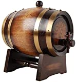 Lefran Wine Rack Small Red Wine Barrels Cask Oak Barrels High-Grade Pine Bar Set Hotel