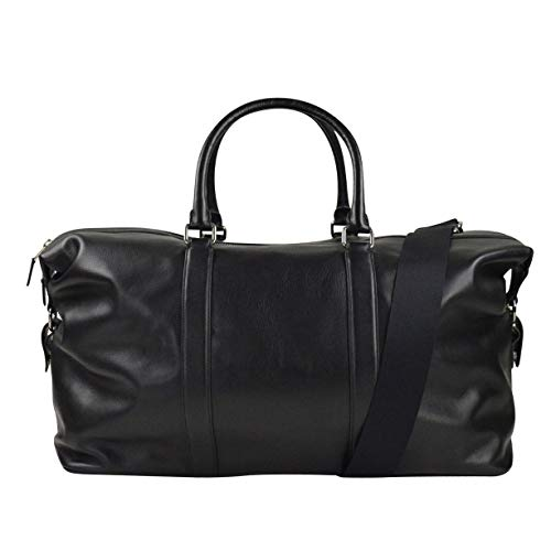 Coach Voyager/Duffle Bag 52 Sport Leather in Black