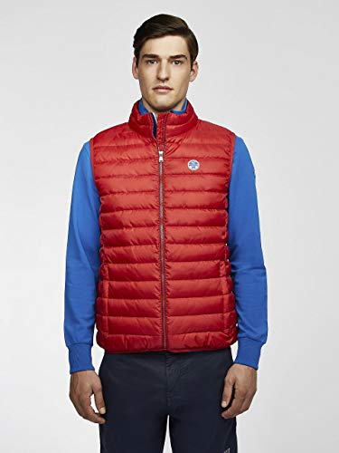 NORTH SAILS Gilet Crozet in Rosso XL