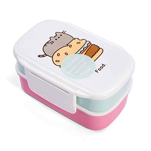 Officially Licensed Pusheen The Cat Double Layer Lunchbox