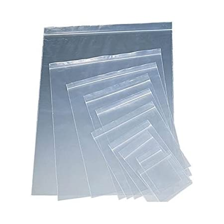 Grip Seal Bags Poly Plastic Plain Write-On-Panel Small Large Variety of Size